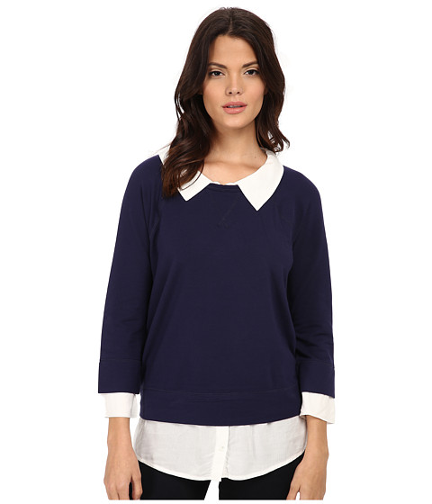 Soft Joie - Emma B 6513A-22241B (Midnight Blue) Women's Sweatshirt