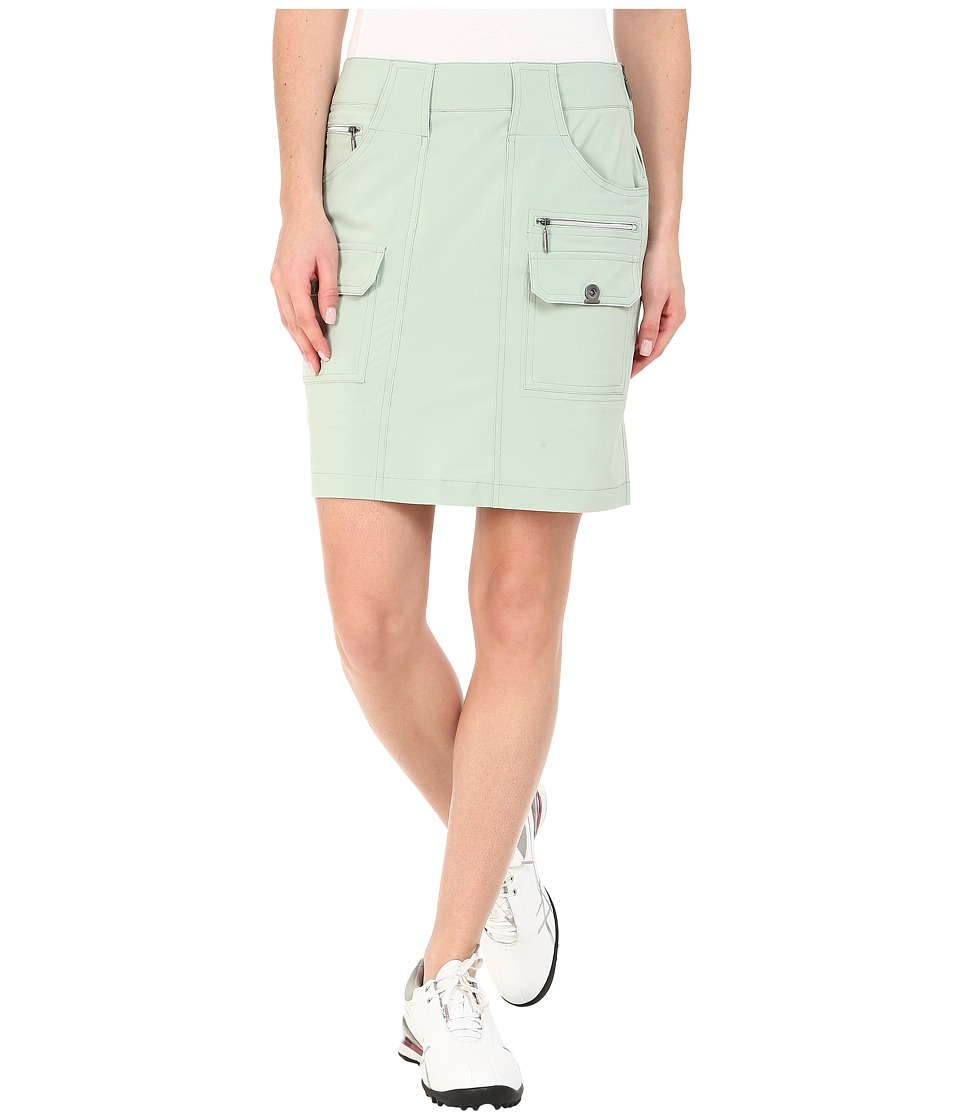 Jamie Sadock - Airwear Light Weight 18 in. Skort (Sage 1) Women's Skort