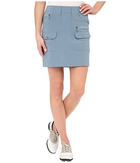 Jamie Sadock - Airwear Light Weight 18 in. Skort (Slate) Women's Skort
