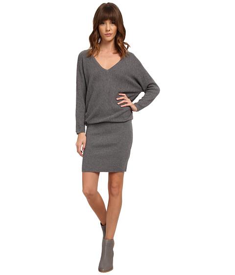 Soft Joie - Delsie 6037-K1928 (Dark Heather Grey) Women's Dress