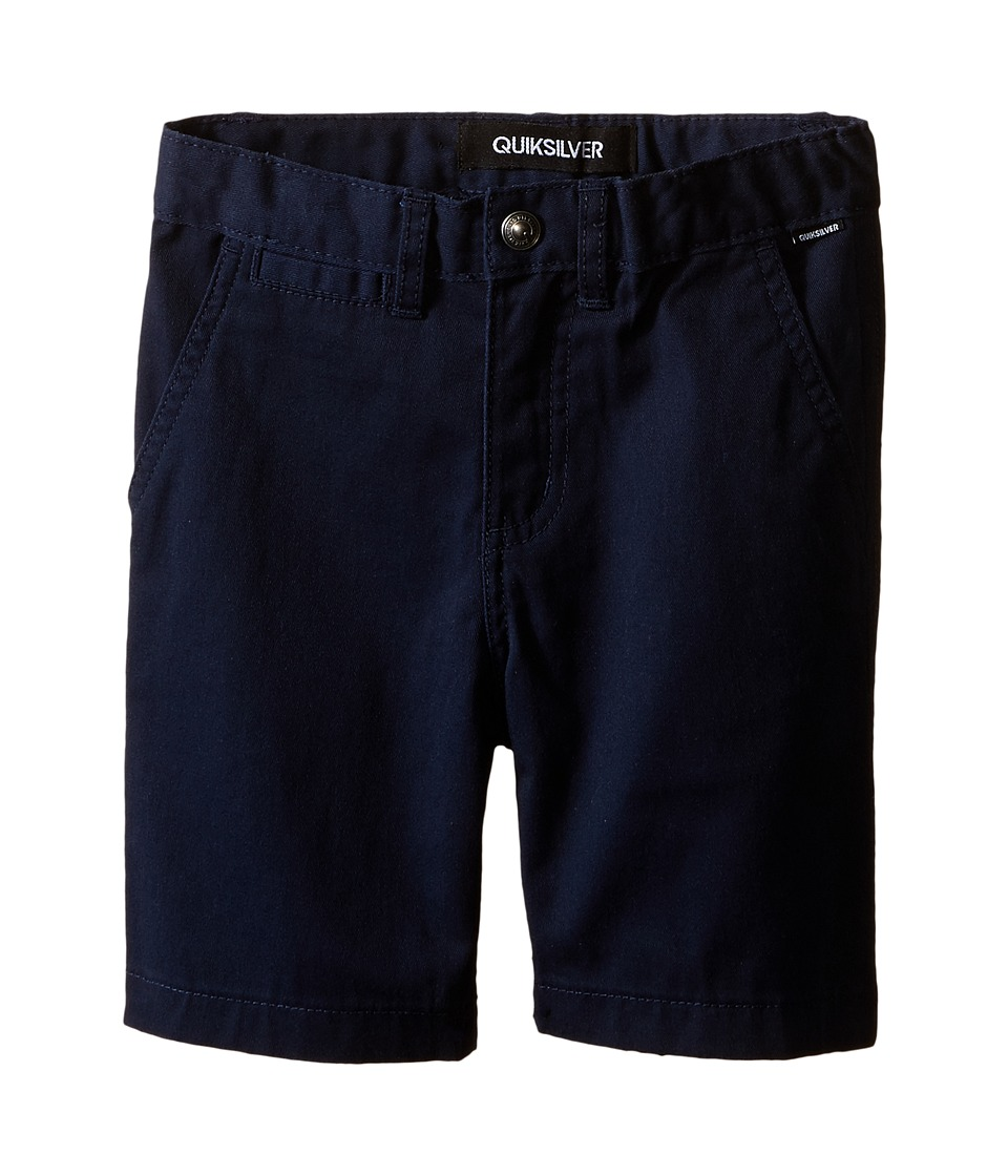 Quiksilver Kids - Union Chino Short (Toddler) (Navy Blazer) Boy's Shorts