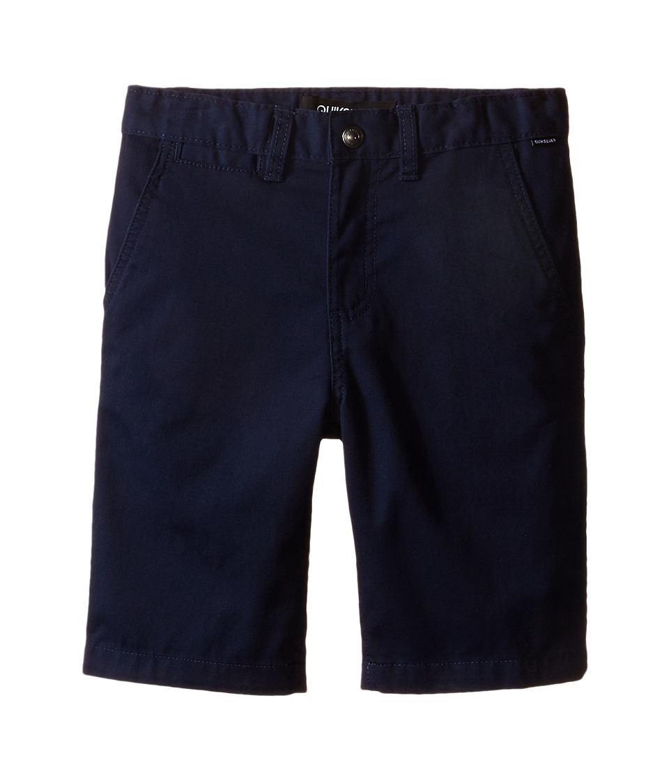 Quiksilver Kids - Union Chino Short (Toddler/Little Kids) (Navy Blazer) Boy's Shorts