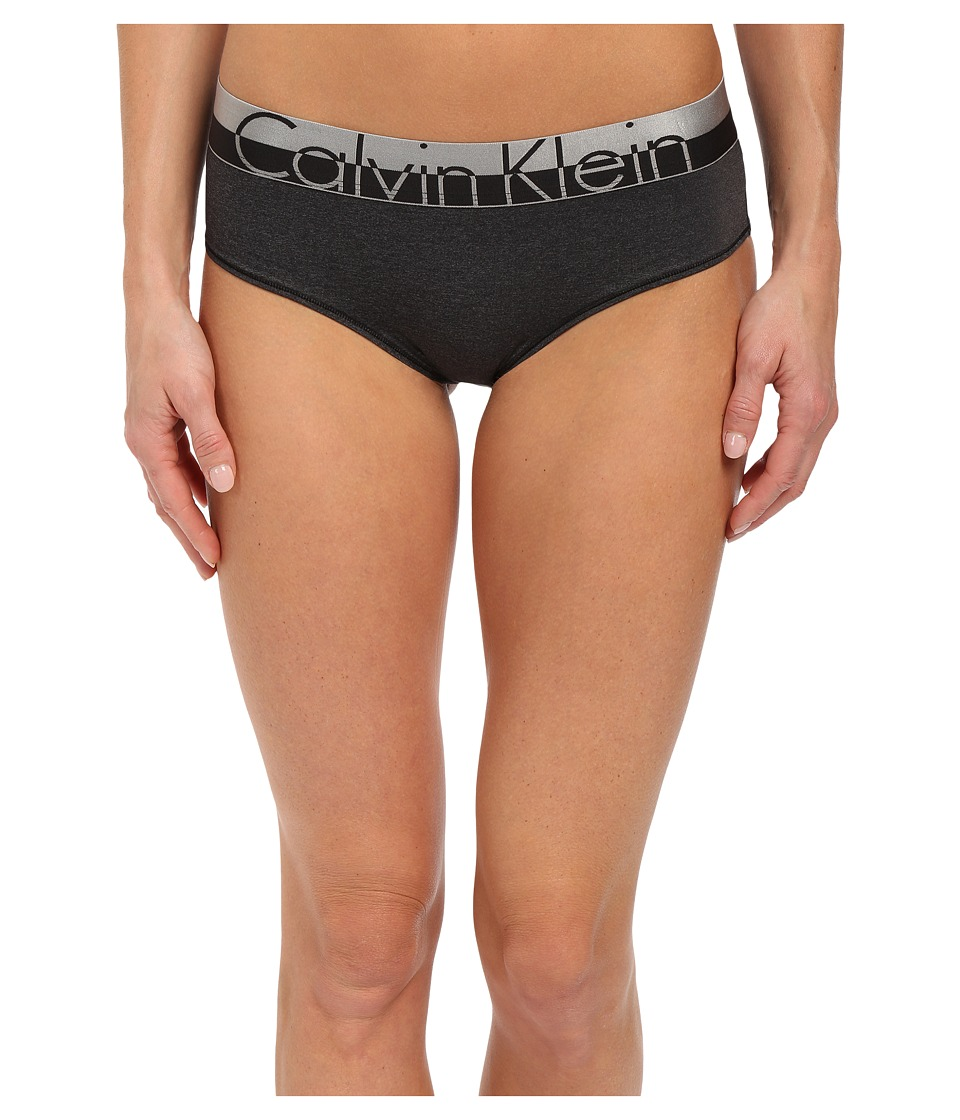 Calvin Klein Underwear - Magnetic Force Hipster (Black Heather) Women's Underwear