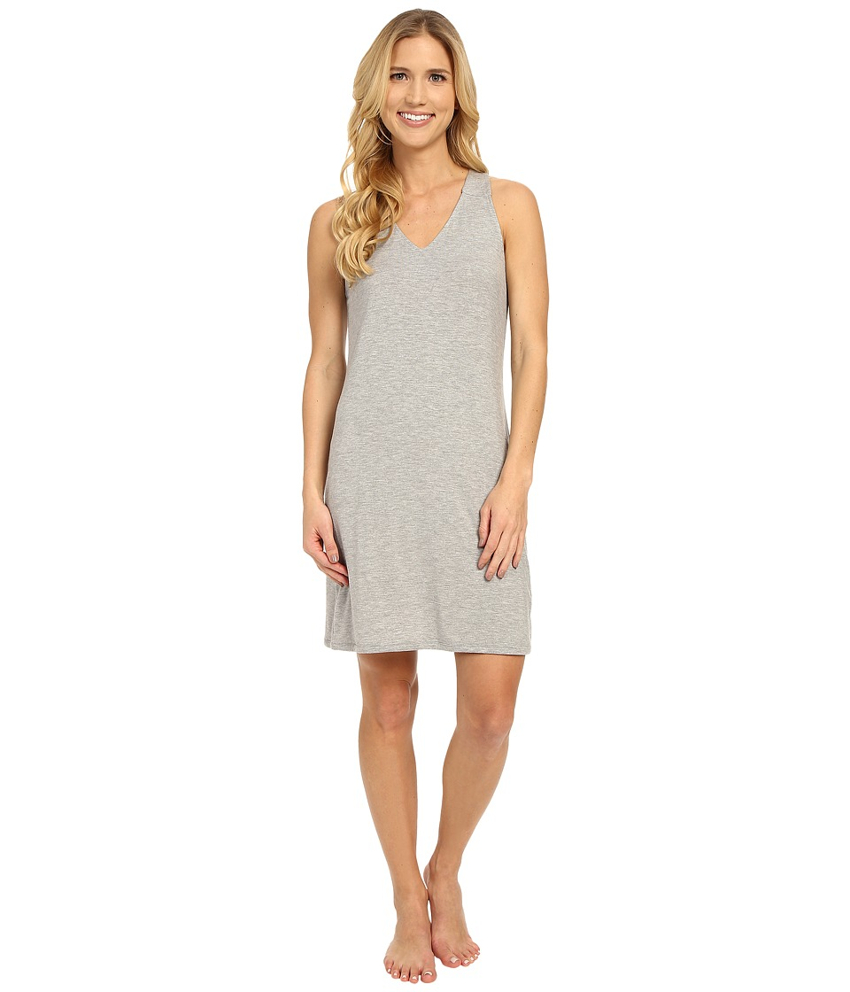 Calvin Klein Underwear - Depth Sleepwear Chemise (Grey Heather) Women's Pajama
