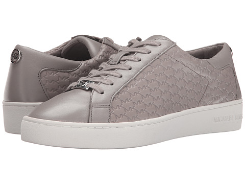 MICHAEL Michael Kors - Colby Sneaker (Pearl Grey) Women's Lace up casual Shoes
