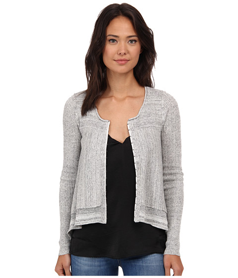 Free People - Never Again Cardi (Grey Combo) Women's Sweater