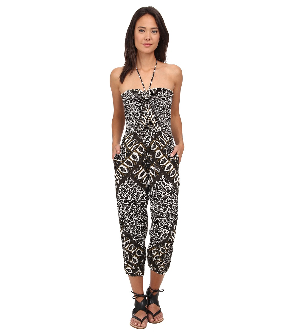 Free People - Balloon One-Piece (Ivory Combo) Women's Jumpsuit & Rompers One Piece