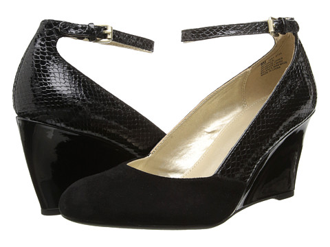 Bandolino - Topical (Black/Black Synthetic) Women's Shoes
