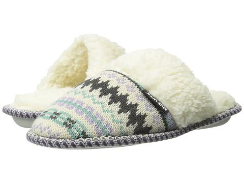 MUK LUKS - Knit Scuff (Zig Zag Pastel) Women's Slippers