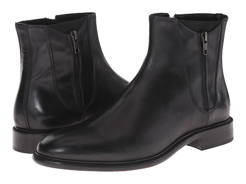 Kenneth Cole Black Label - Won-Derwork (Black) Men's Zip Boots