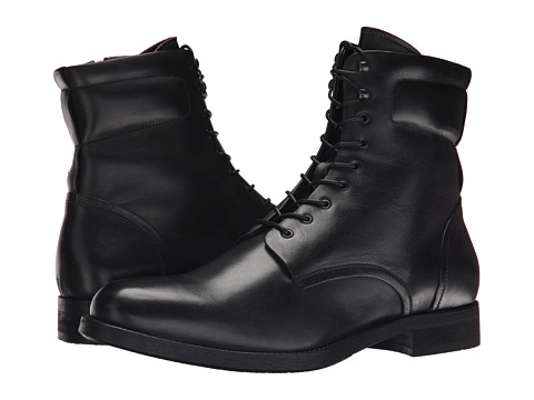 Kenneth Cole Black Label - For-Ward (Black) Men's Lace-up Boots