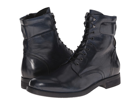 Kenneth Cole Black Label - For-Ward (Navy) Men's Lace-up Boots