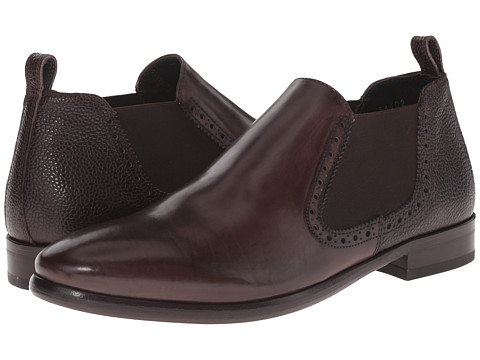 Kenneth Cole Black Label - On A Rant (Dark Brown) Men's Slip on Shoes