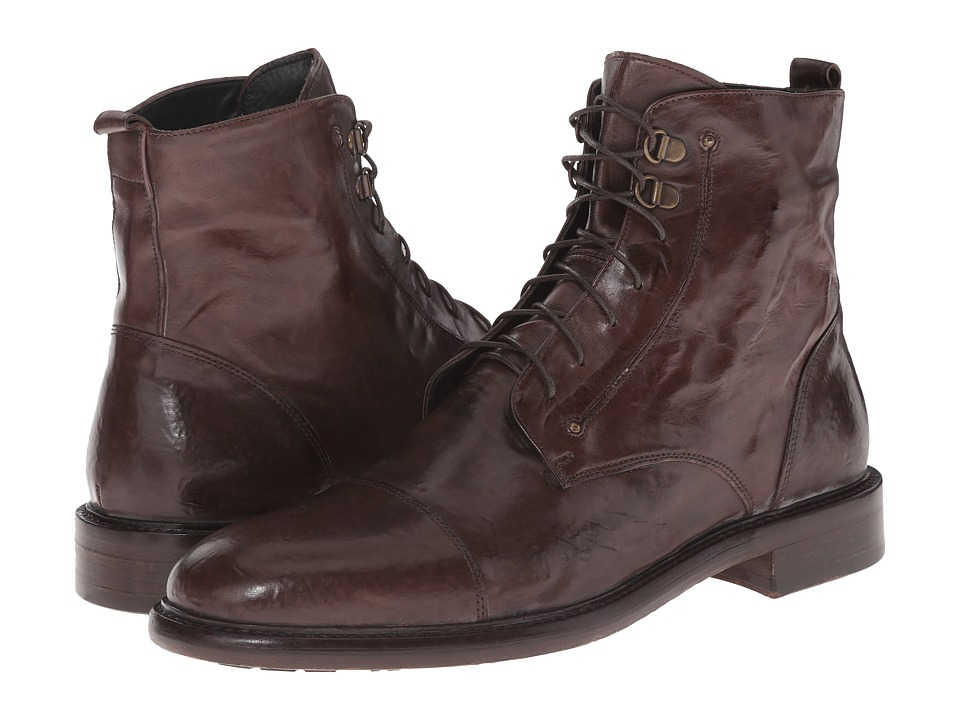 Kenneth Cole Black Label - Worth-Y (Brown) Men's Lace-up Boots