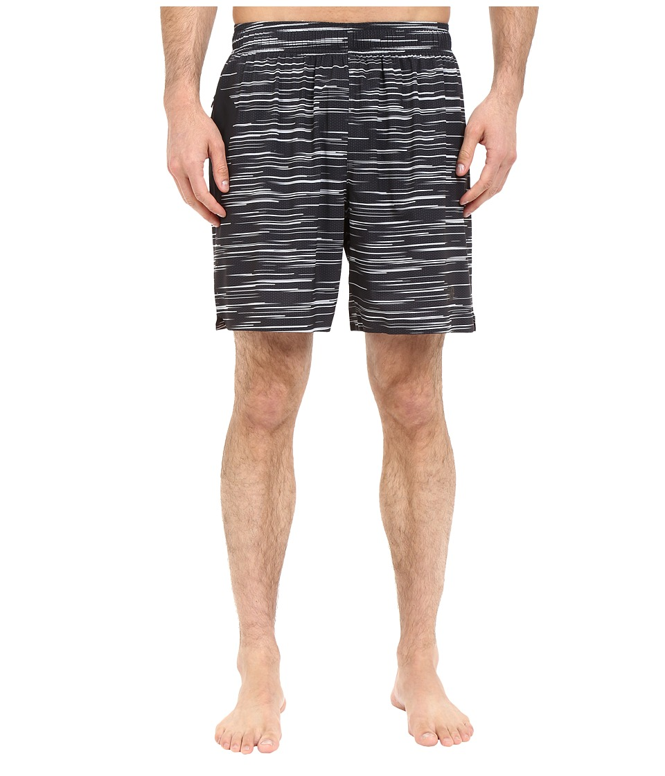 New Balance - 7 Stretch Woven Short (Black/Grey) Men's Shorts