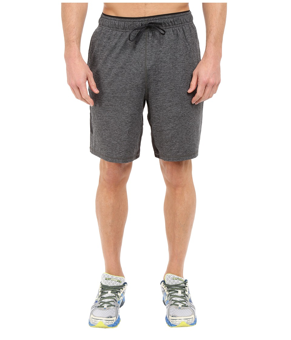 New Balance - Transit Knit Shorts (Heather/Charcoal) Men's Shorts