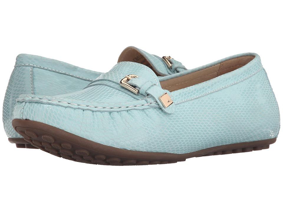 David Tate - Tiffany (Sky Blue Snake) Women's Shoes