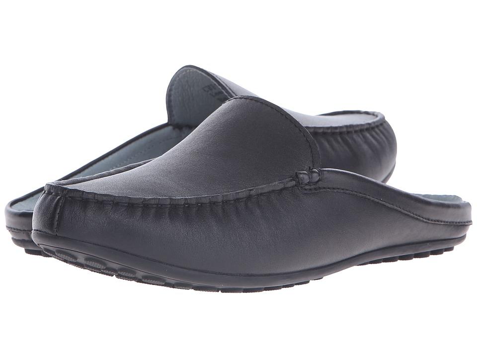 David Tate - Lizzy (Black Calf) Women's Slip on Shoes