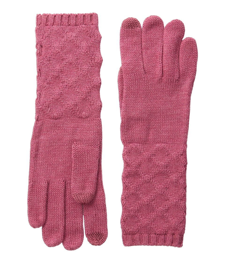 Echo Design - mSoft Pointelle Touch Gloves (Winter Rose Heather) Extreme Cold Weather Gloves