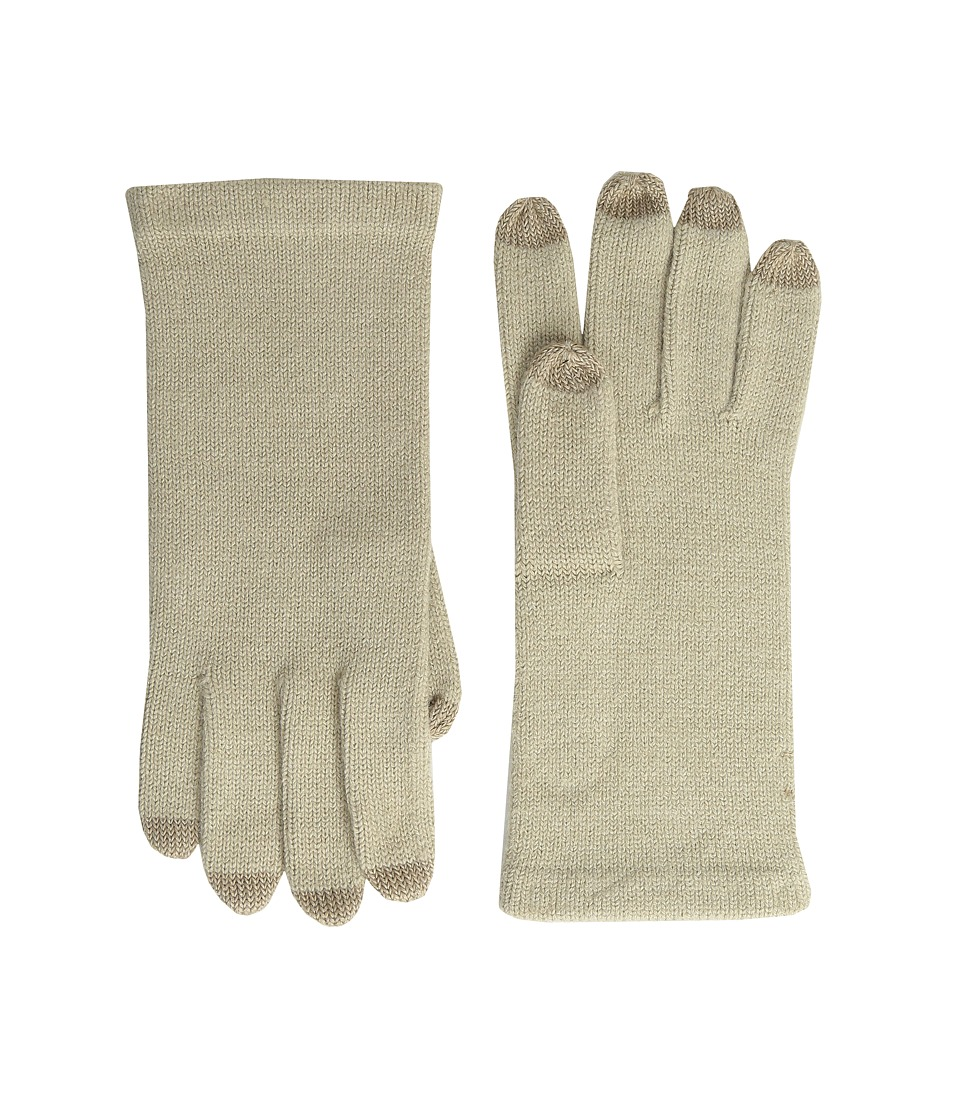 Echo Design - All Over Echo Touch Gloves (Oatmeal Heather) Extreme Cold Weather Gloves