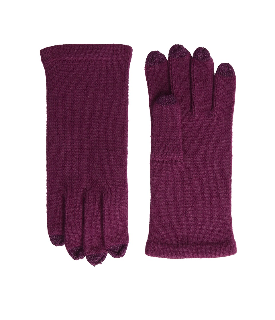 Echo Design - All Over Echo Touch Gloves (Berry) Extreme Cold Weather Gloves