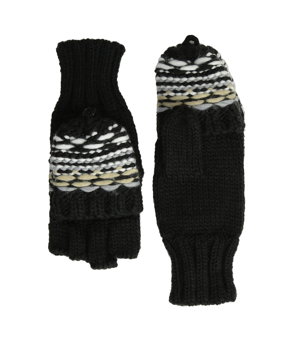 Echo Design - Float Stitch Pop Top Gloves (Black) Extreme Cold Weather Gloves