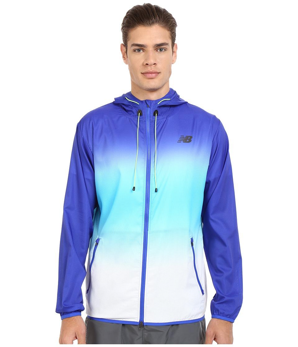 New Balance - Windcheater Hybrid Jacket (Pacific/Bayside) Men's Coat