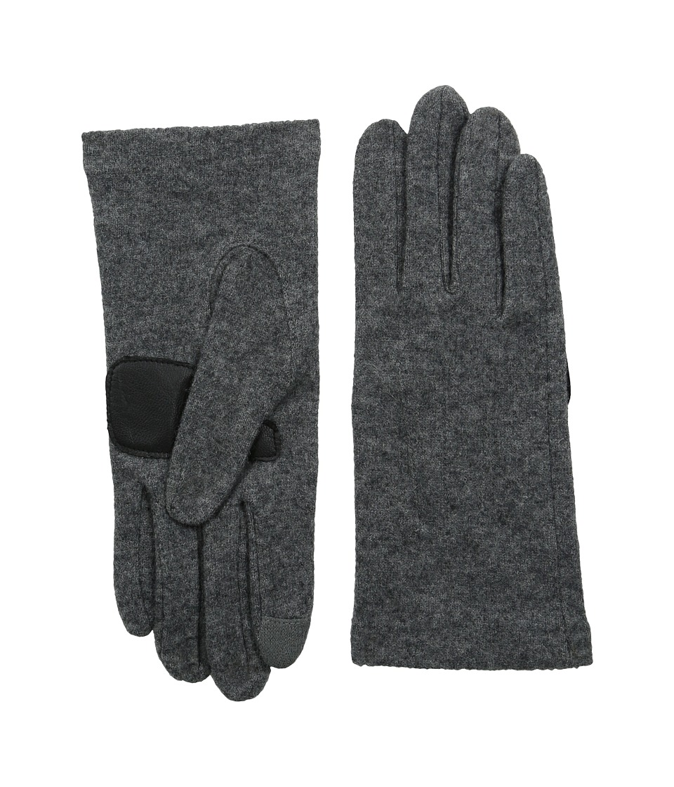 Echo Design - Touch Basic Gloves (Grey Heather) Dress Gloves