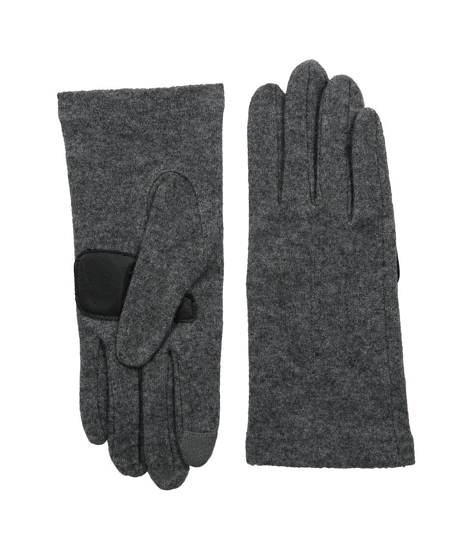 Echo Design - Touch Basic Gloves (Grey Heather) Dress Gloves