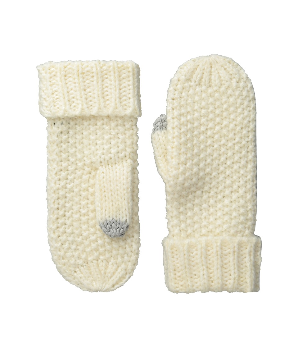 Echo Design - Glimmer Touch Mittens (Snow White) Extreme Cold Weather Gloves