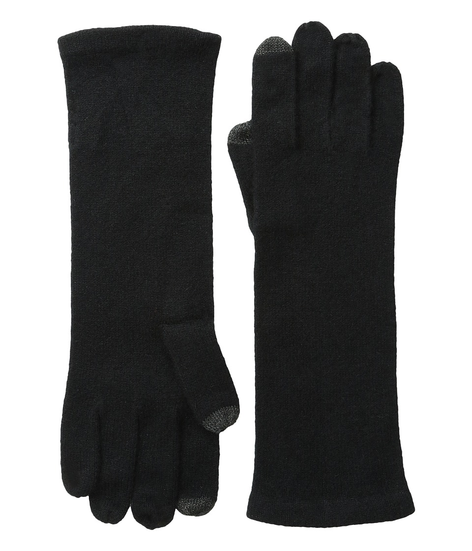 Echo Design - Solid Cashmere Gloves (Black) Extreme Cold Weather Gloves
