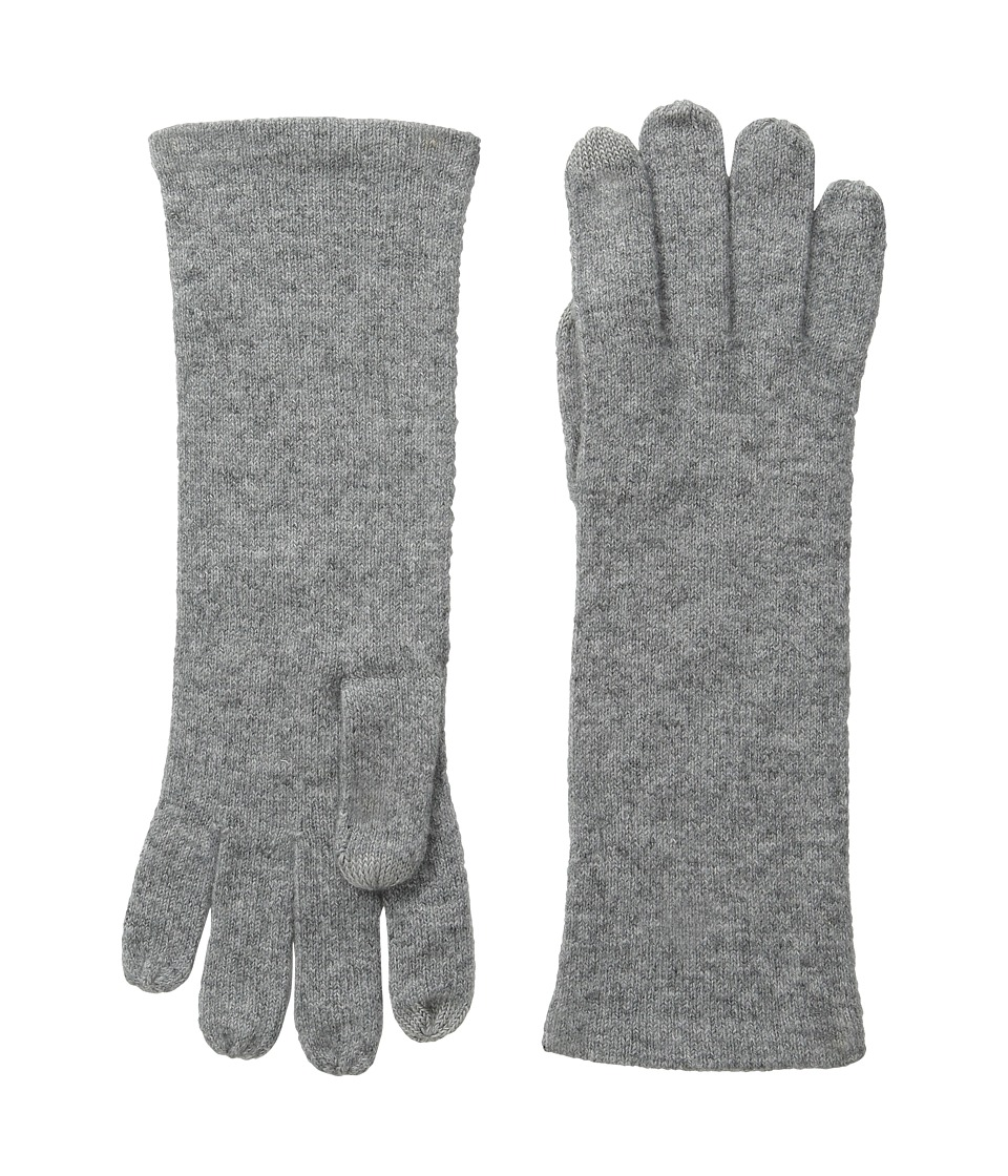 Echo Design - Solid Cashmere Gloves (Platinum) Extreme Cold Weather Gloves