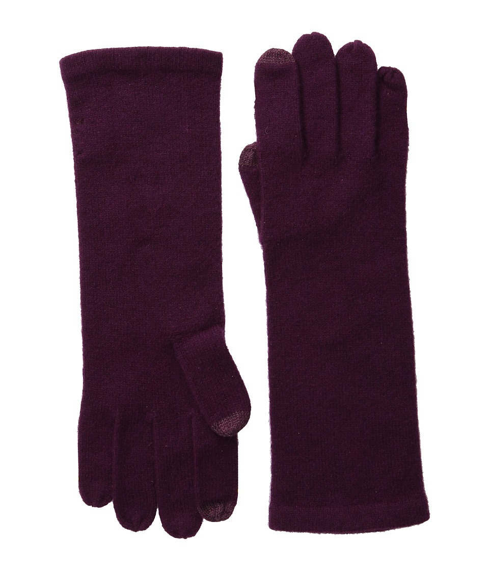 Echo Design - Solid Cashmere Gloves (Solid Berry) Extreme Cold Weather Gloves