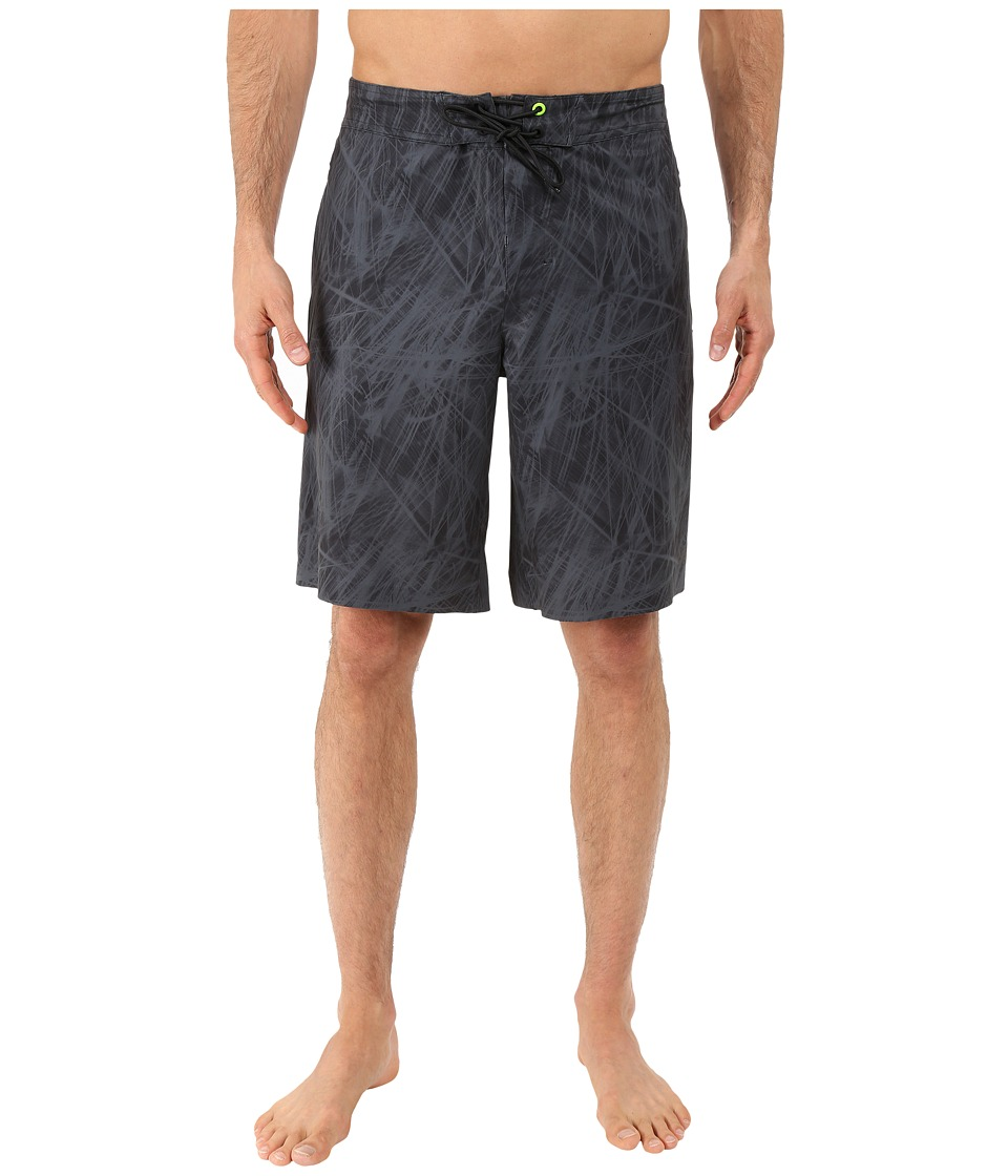 New Balance - Influx Boardshorts (Black/Grey) Men's Shorts