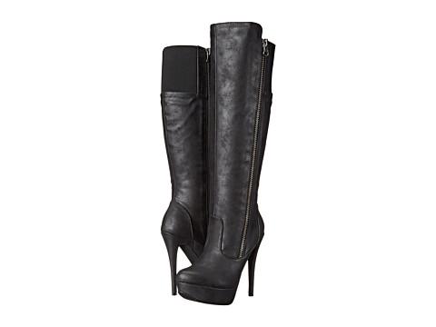 Michael Antonio - Brandy (Black) Women's Zip Boots