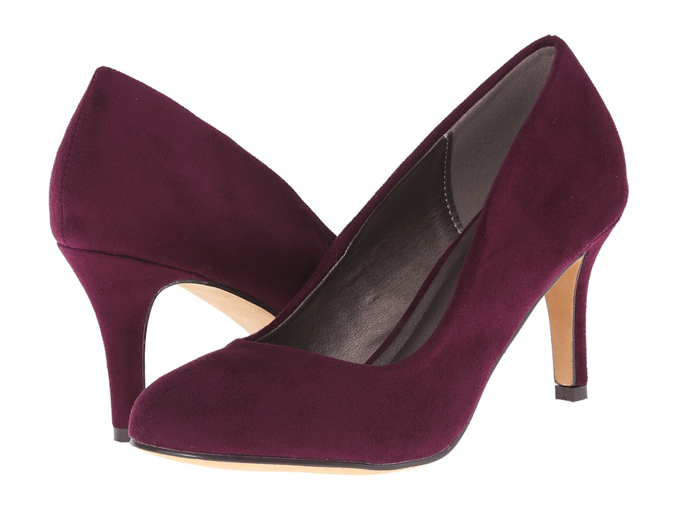 Michael Antonio - Finnea Suede (Cranberry) Women's 1-2 inch heel Shoes