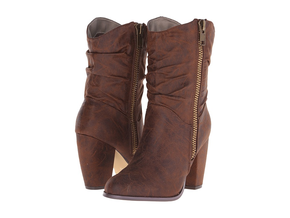 Michael Antonio - Meelee (Whiskey) Women's Zip Boots