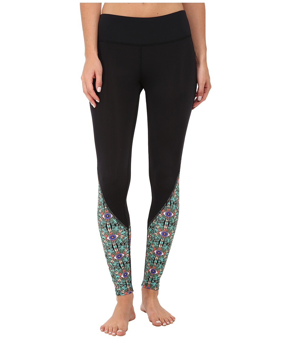 Mara Hoffman - Combo Long Leggings (Stargazer) Women's Workout