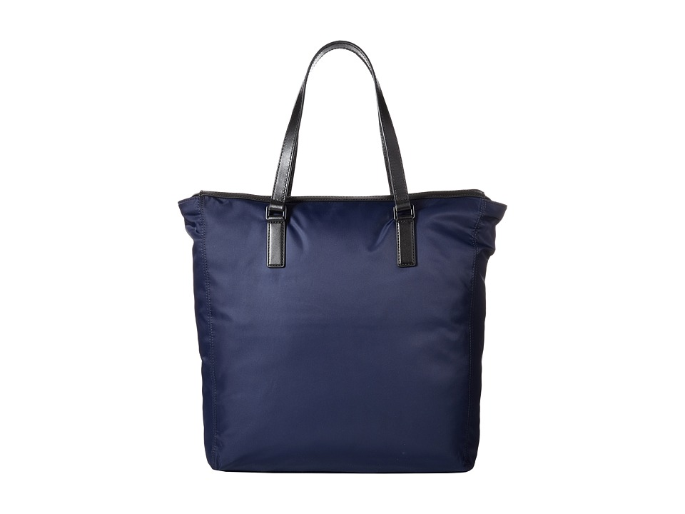 Michael Kors - Kent Lightweight Nylon Large Top Zip Tote (Indigo) Tote Handbags