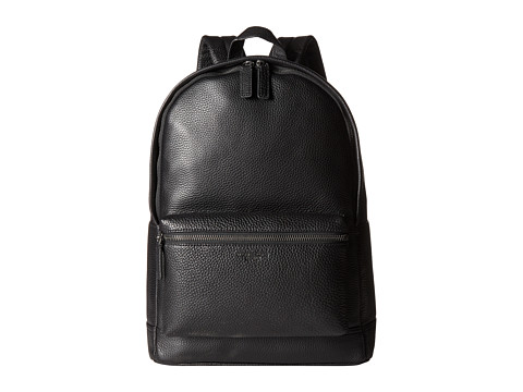 Michael Kors - Bryant Pebble Leather Backpack (Black) Backpack Bags
