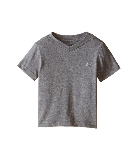 Quiksilver Kids - Core Daily T-Shirt (Infant) (Medium Grey Heather) Boy