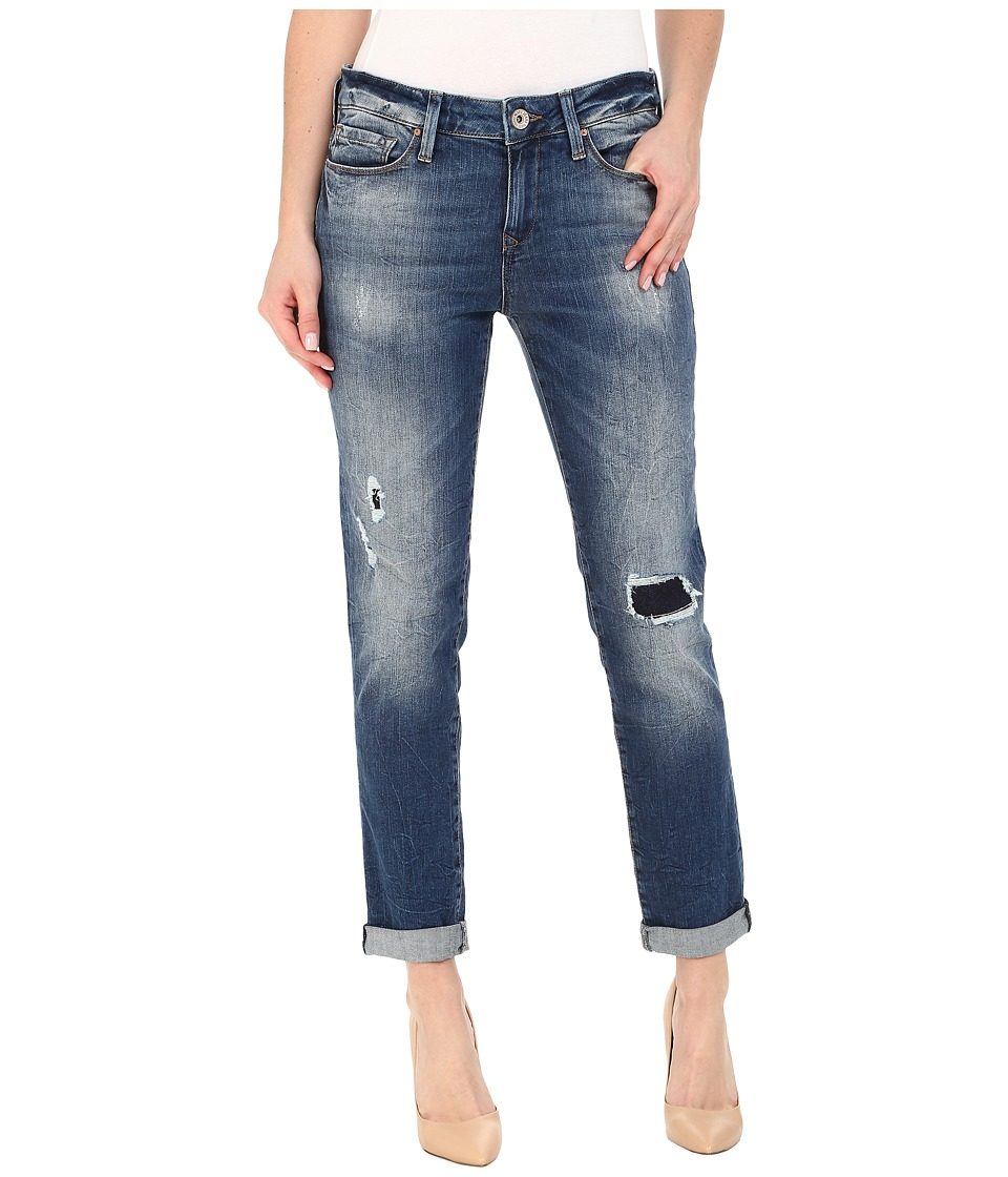 Mavi Jeans - Ada in Mid Patched Vintage (Mid Patched Vintage) Women's Jeans plus size,  plus size fashion plus size appare