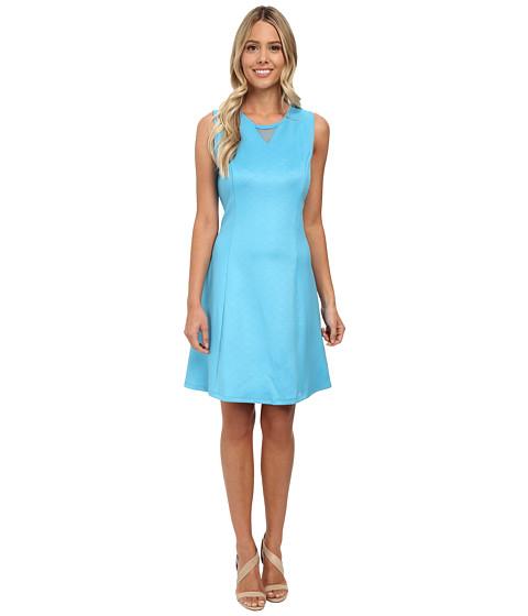 rsvp - Aria Scuba Dress (Teal) Women's Dress