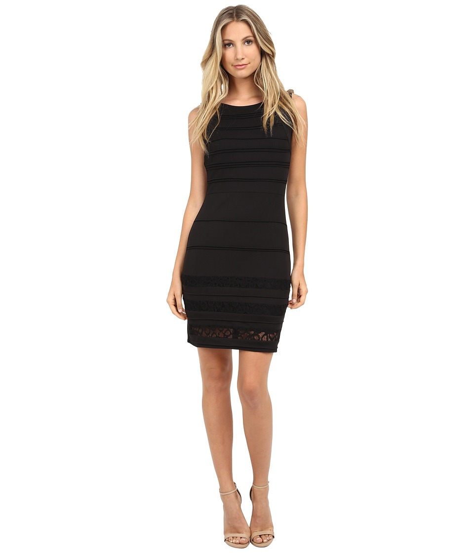 rsvp - Amaryllis Bandage Dress (Black) Women's Dress