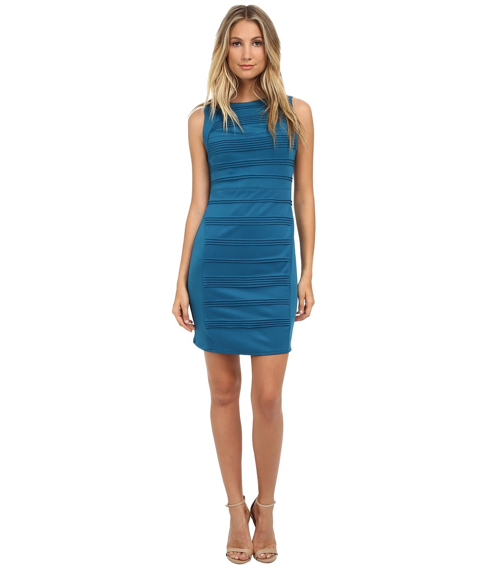 rsvp - Blushing Violet Dress (Teal) Women's Dress