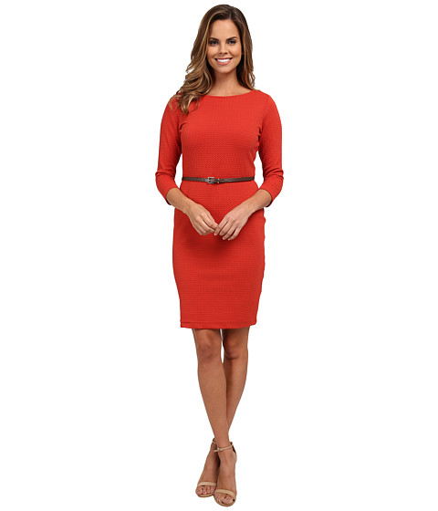 rsvp - Andrea Belted Dress (Pumpkin) Women