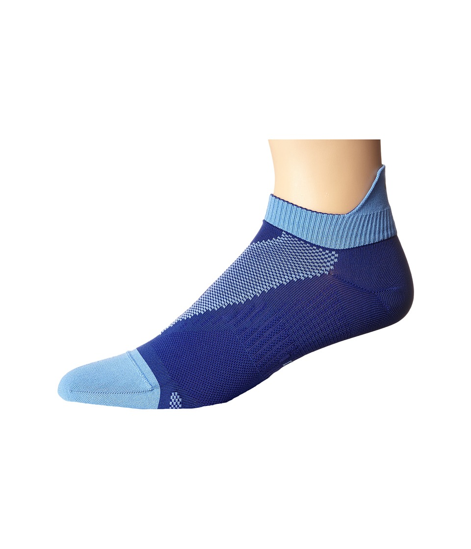 Nike - Elite Run Lightweight No Show (Deep Night/Chalk Blue) No Show Socks Shoes