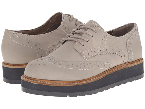 Steve Madden - Tracey (Grey Nubuck) Women's Lace up casual Shoes