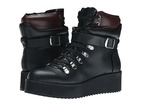 Steve Madden - Hiking (Black Leather) Women