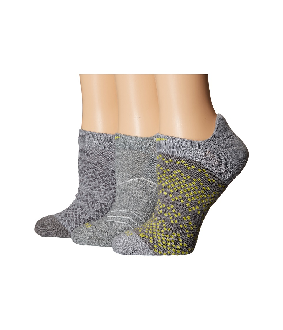 Nike - Dri-Fit Graphic No Show 3-Pair Pack (Multicolor 2) Women's No Show Socks Shoes